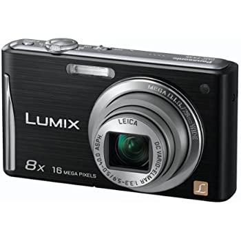 Panasonic Lumix FS35 Digital Camera - Black (16.1MP, 8x Optical Zoom) 2.7 inch LCD