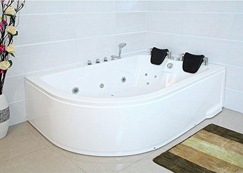 Charmant XXL Luxus Whirlpool Badewanne Bali RECHTS Mit 14 Massage Düsen + Armaturen  Wanne Mit Kopfstützen Hot Tub Spa Indoor / Innen Für 2 Personen Für Rechte  ...