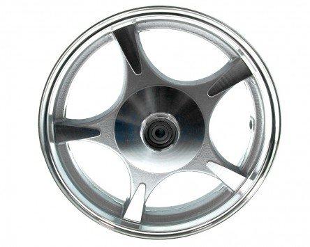 Cerchio ruota anteriore Freno a disco da 10 pollici a 5 razze Stella alluminio - Baotian-BT49QT-9R1
