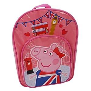 Peppa Pig Mochila Infantil, Rosa (Rosa) – PEPPA001421