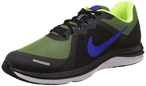 Nike Dual Fusion X 2, tour de formation homme Multicolor (BLACK/RACER BLUE VOLT WHITE)