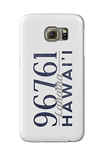 Lahaina, Hawaii - 96761 Zip Code (Blue) (Galaxy S6 Cell Phone Case, Slim Barely There)