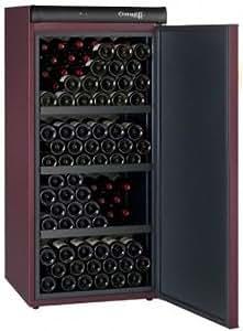 Cave vieillissement - 1 temp. - 168 blles - Coloris Bordeaux - CLIMADIFF - ACI-CLI457 - Pose libre