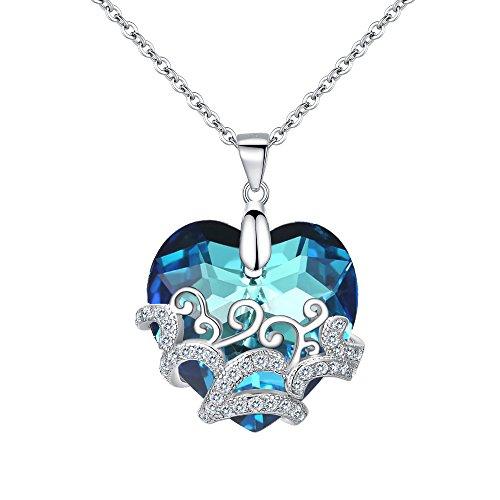 (Clearine Halskette Damen 925 Sterling Silber
