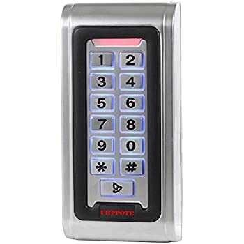 SDPAWA Waterproof Metal Digital Access Control Keypad Standalone Controller Reader for 125KHz EM /& HID Card Wiegand Interface for Outdoor