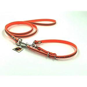 ComfiCord® Befreiungsleine Rettungshundeleine Typ 1, 13mm x 120cm Gr.1, Signalorange Reflektierend
