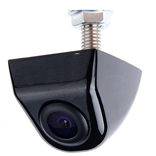 YMPA Rückfahrkamera mit dynamischen beweglichen Hilfslinien Parklinien Distanzlinien Kamera Unterbau Gewinde mit 6 Meter Kabel für Monitor Auto KFZ PKW Wohnmobil RFK-KUB170DL