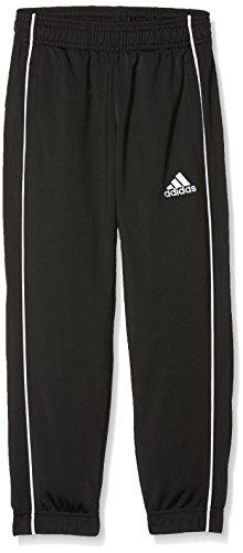 adidas Kinder CORE18 PES PNTY Sport Trousers, Black/White, 5-6Y