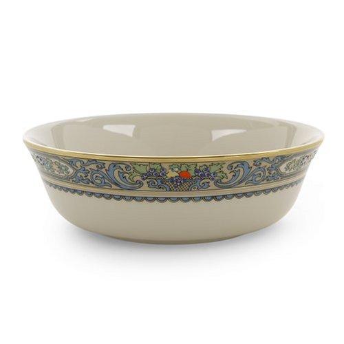 Lenox Herbst Gold-Banded Fine China erfolgt 5-teiliges Set, elfenbeinfarben, All Purpose Bowl Gold-rimmed Soup Bowl