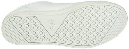 Lacoste Damen Straightset 316 1 Sneakers Weiß (WHT 001)