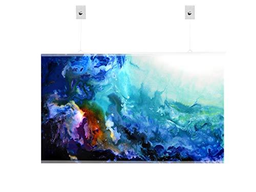 Mur d/'impression de verre art Hanging Décoration trempé sécurité verre