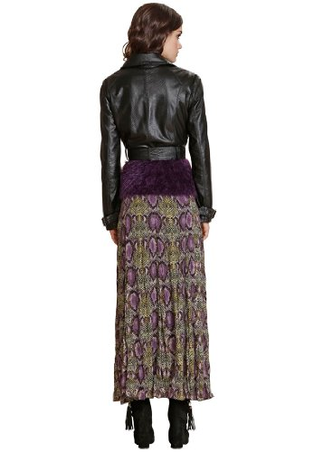 APART Fashion -  Gonna  - Donna LILA-MULTICOLOR