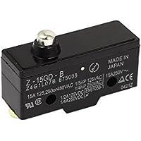 SPDT Switch 3 límite de control del émbolo de terminales de tornillo momentáneo DealMux Z-15GD-B