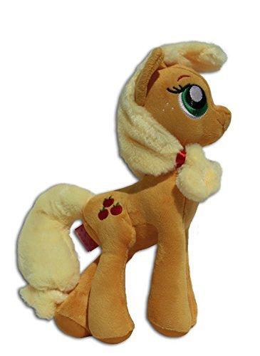 chpuppe Stofftier Neu Plüschtier Plüsch My Little Mein Kleines Pony Gelb Erdpony Pferd Roten Äpfeln Apfel Weich Maskottchen Hasbro Nickelodeon TV Serie Hohe Qualität ()