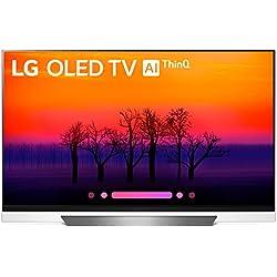 LG OLED AI ThinQ 55E8 - da 55'' - 4 K Cinema Vision, HDR, Dolby Atmos (4 K OLED LG TV, Smart TV)