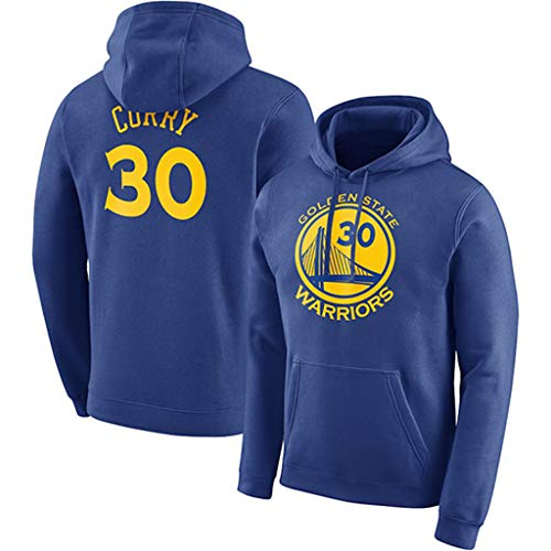 Golden State Warriors Stephen Curry #30 Herren Hoodie Youth Männer Pullover Name & Number Fashion Basketball Sports Sweatshirt Tops Youth Zip-front Hoodie