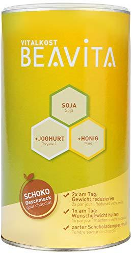 BEAVITA Vitalkost - 500g Schokoladen Pulver - Diät-Shake für unbeschwertes Abnehmen - reicht für 9 Shakes - Kalorien sparen & Gewicht reduzieren - inkl. Diätplan Anleitung - 22 Vitamine & Mineralien