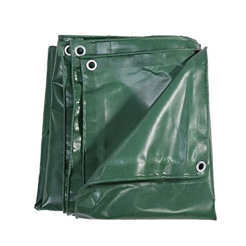 Qualità Telo Telone Occhiellato di protezione verde, 3x 4m 650g/m² impermeabile Telo in PVC per esterno