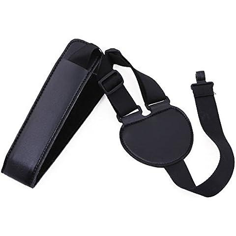 Cinturino per chitarra in pelle PU regolabile per Ukulele/chitarra classica, Mandolin