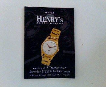 Armband- & Taschenuhren Sammler-& Liebhaberfahrzeuge Auktionen 2. September 2006