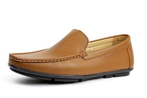 Hommes Slip On Casual Conduite Chaussures À La Mode Design De Mode Mocassins Style Mocassin Marron