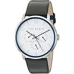 Ted Baker Unisex 42mm Case weiß Face te10029567