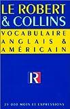 Vocabulaire anglais et américain