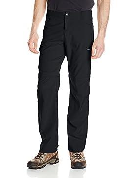 Columbia Silver Ridge elástico convertible–Pantalones para hombre, hombre, negro