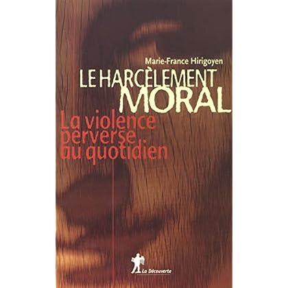 Le harcèlement moral