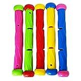 Beito 5 PC-Pool-Spielzeug Multicolor Tauchen Stock-Unterwasserspiele Ausbildung Tauch Sticks