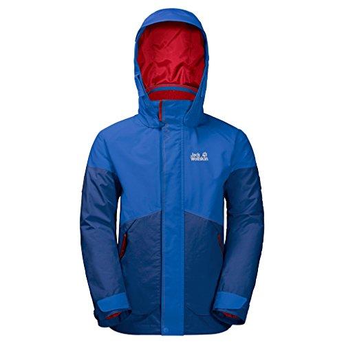 Preisvergleich Produktbild JACK WOLFSKIN 3in1-Jacke B POLAR WOLF 3IN1 JKT, royal blue, 92, 1605882-1505092