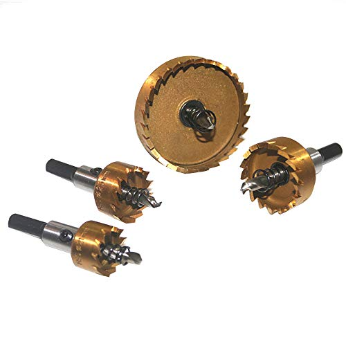 säge Zahn Kit HSS Stahl Bohrer Cutter Tool Set Für Metall Holz Legierung (GD) ()