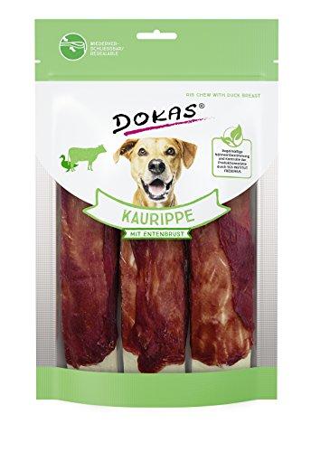 DOKAS Getreidefreier Premium Kausnack für Hunde - Ideal für große Hunde
