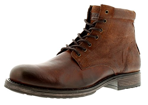 Jack & Jones Justin Boots - BROWN STONE - 9 for sale  Delivered anywhere in UK