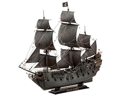 Revell 05699 - Modellbausatz Schiff 1:72 - Piratenschiff Black Pearl im Maßstab 1:72, Level 5, Orginalgetreue Nachbildung mit vielen Details, Segelschiff, Fluch Der Karibik, Limited Edition -