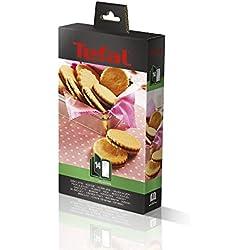 Tefal XA801412 Snack Collection–Molde para galletas como accesorio para plancha para gofres