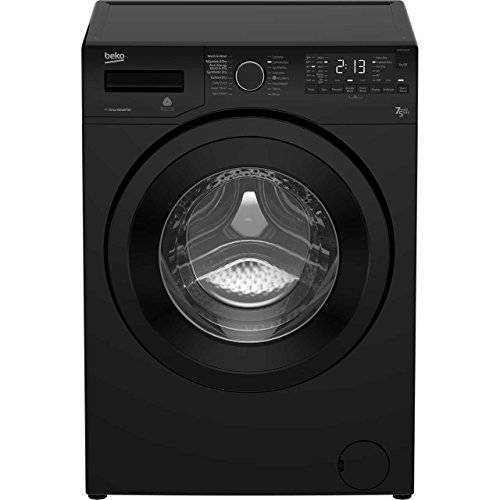Beko WDR7543121B A Rated Freestanding Washer Dryer - Black