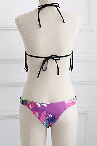 Donna Push Up Costumi Da Bagno Bikinis Coordinati Diving Suit Mare E Piscina Swimsuit Triangolo