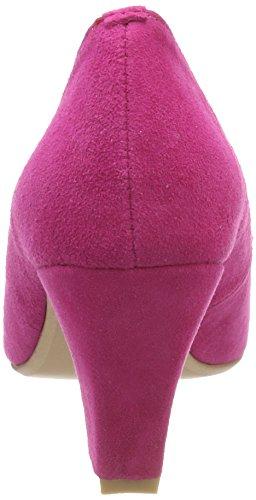 Andrea Conti 3005701, Scarpe Col Tacco Punta Chiusa Donna Rosa (Pink)