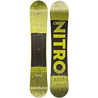 Nitro Freestyle - Tabla de Snowboard para Hombre Prime Toxic 162 2019