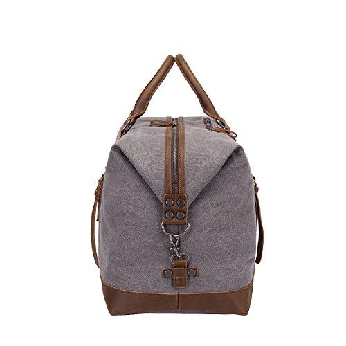Yy.f Hohe Kapazität Mobile Messenger Mann Tasche Reisegepäck Reiseschulterbeutel Neue Taschen Reisetaschen Taschen Feste Farbe Multicolor Grey