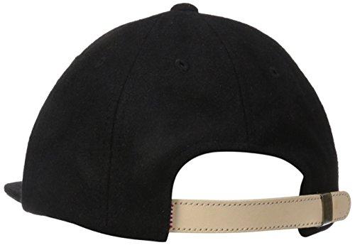 Glen Herschel wood 1024 uomo baseball-tappo Black Wool/Tan