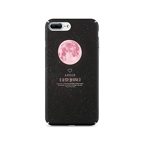 Pnizun - Matt-Fall für iPhone 7 6 S 8 Plus XS Max Xr Abdeckung Starry Night Harter PC Kasten für iPhone SE 5S 5 X Telefon-Abdeckungen Capinhas [2 Für iPhone 7 8]