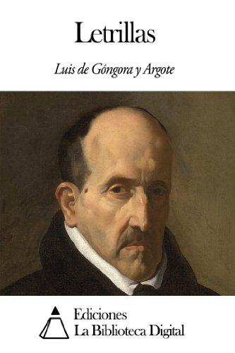Letrillas por Luis de Góngora y Argote