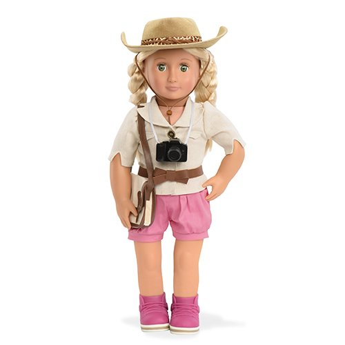 Unsere Generation Safari bereit Deluxe Doll Outfit - Shorts Set Girl Puppe American