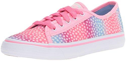 Keds ,  Mädchen Sneaker Low-Tops , rosa - Pink/Multi Dot Sugar Dip - Größe: 37 EU M Großes Kind (Dot Multi Big)