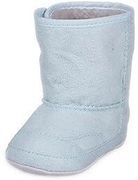 EOZY 1paire Bottes Bottines Chaussures de Neige pour Bébé Fille Garçon de 6-24 Mois en Hiver Antidérapant Divers Couleurs Tailles