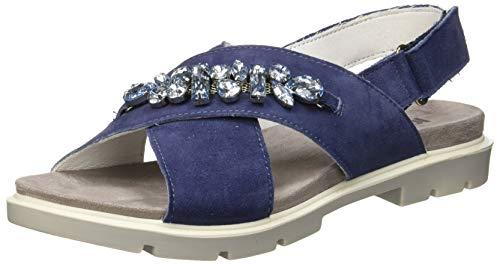 IGI&CO DSR 31660, Sandali con Chiusura sul Retro Donna, Blu (Jeans 3166011), 38 EU