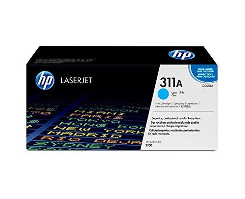 HP 311A (Q2681A) Blau Original Toner für HP Color Laserjet 3700 -