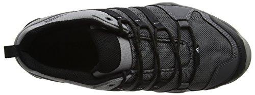 adidas Terrex Ax2r, Chaussures de Trail Homme, BLACK1/Wht/BLACK1 Gris (Granit/negbas/grpuch)